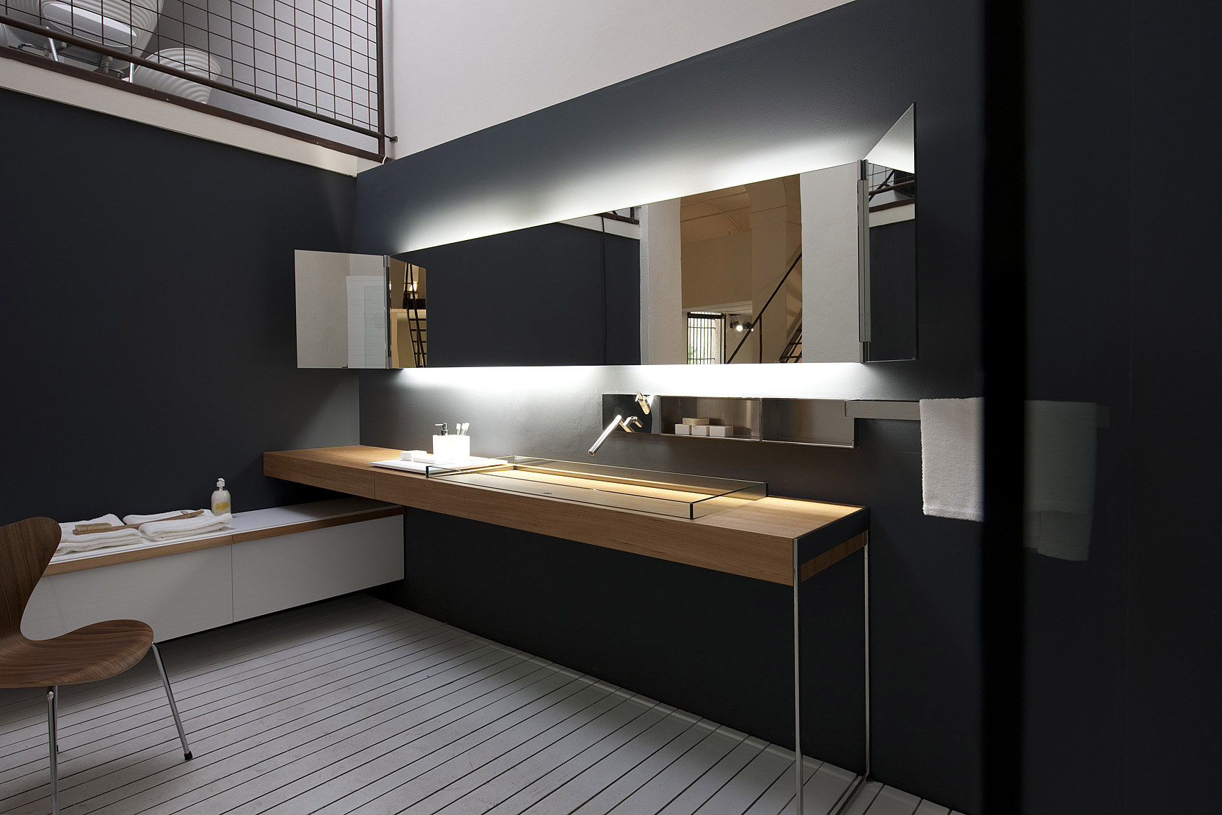 Arredo bagno e contemporary design agape perugia for Design bagno